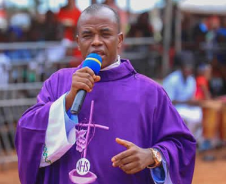 Fr. Mbaka defies Bishop Onaga's order, cries out over DSS invitation after 30-day ban