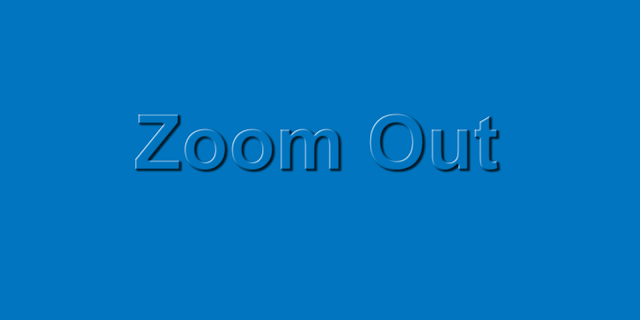 Image With Css Zoom Out Efect