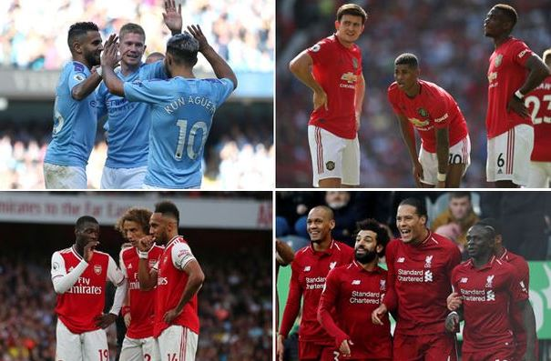 English Premier League's richest clubs ranked by market value of their squads