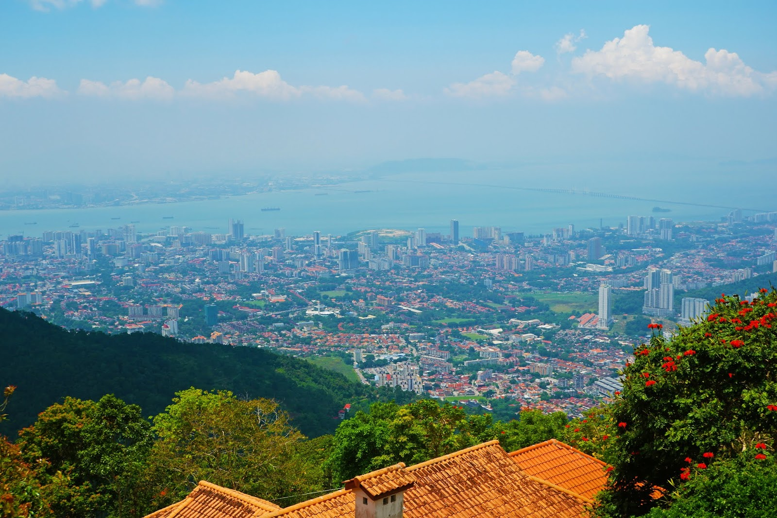 penang view from above
