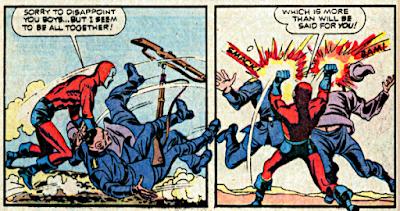 Detective Comics #440, Manhunter fights the Nazis