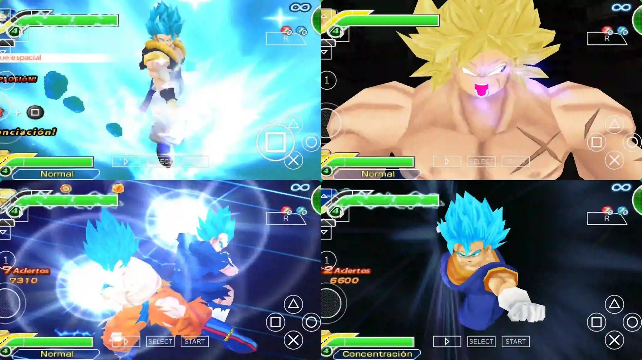 Dragon Ball Super Broly VS Goku and Vegeta