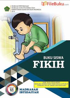 Buku Fikih Siswa MI Kelas 6-VI Kurikulum 2013 Revisi 2019