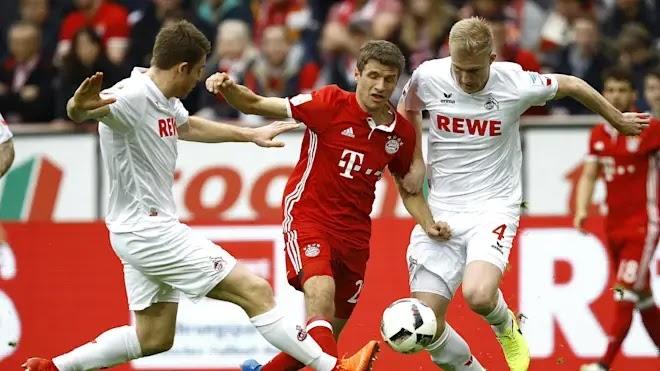 تقرير مباراة بايرن ميونخ وكولن الدوري الالماني