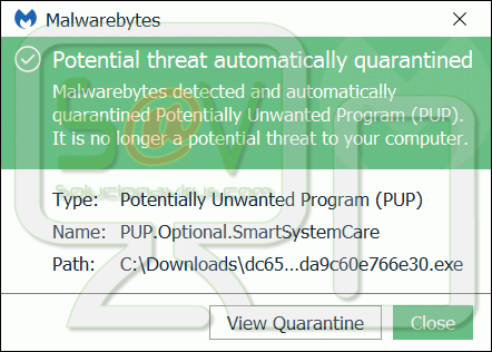 PUP.Optional.SmartSystemCare