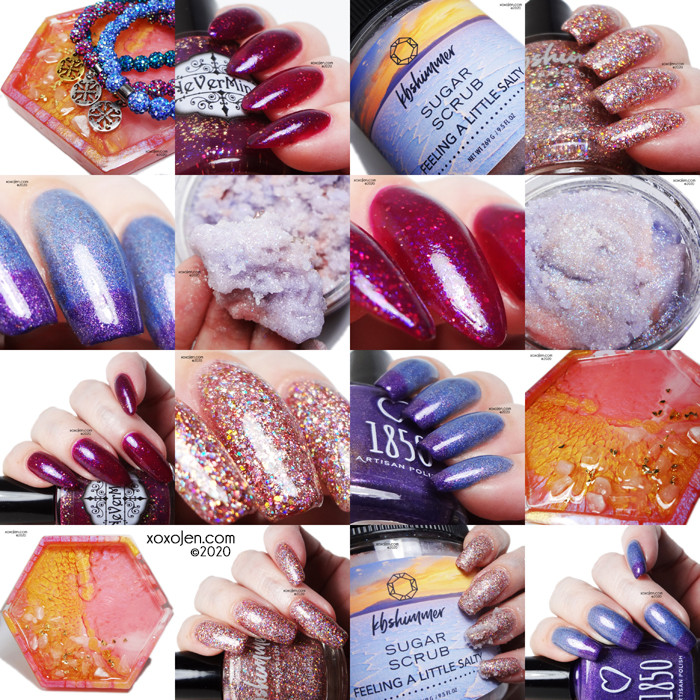 xoxoJen's swatch of Polish Pickup: Birthstones, Gems, & Minerals