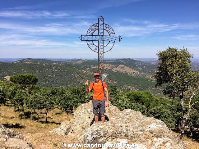 Pico Tentudía. Cima más alta provincia de Badajoz