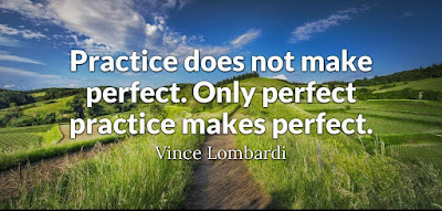Perfect Practice Makes Perfect Quote
