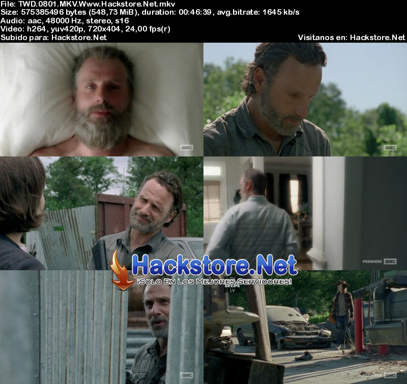 "Capturas de The Walking Dead 8×01 ""Mercy"""