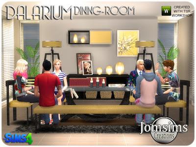 Dalarium Dining Room Столовая Далариума для The Sims 4 Больше деко беспорядков, украшения для малышей деко и коробка для детской спальни. коробка, закрытая коробка, более маленькая коробка. серьги деко для открытой коробки, браслет misc deco для коробки, ожерелье misc deco для коробки, браслет 1, браслет 2. подставка для дисплея и ожерелье котенка. милые беспорядки для вашего маленького.. Автор: jomsims