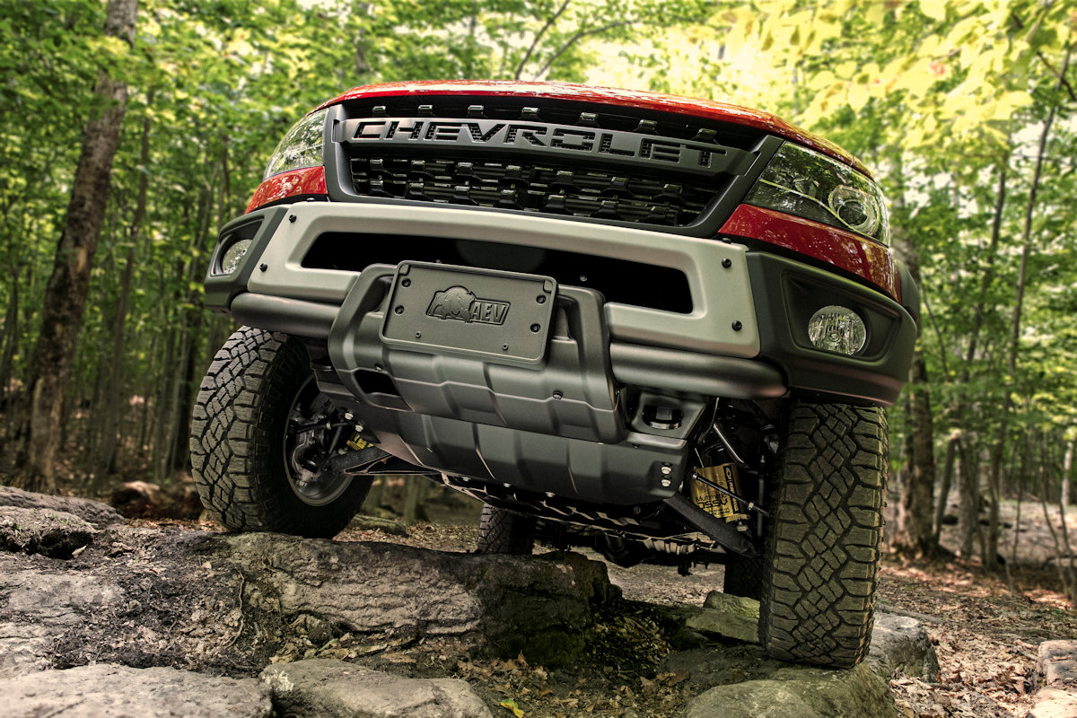 Chevrolet Just Unveiled Their Own High Performance Colorado The