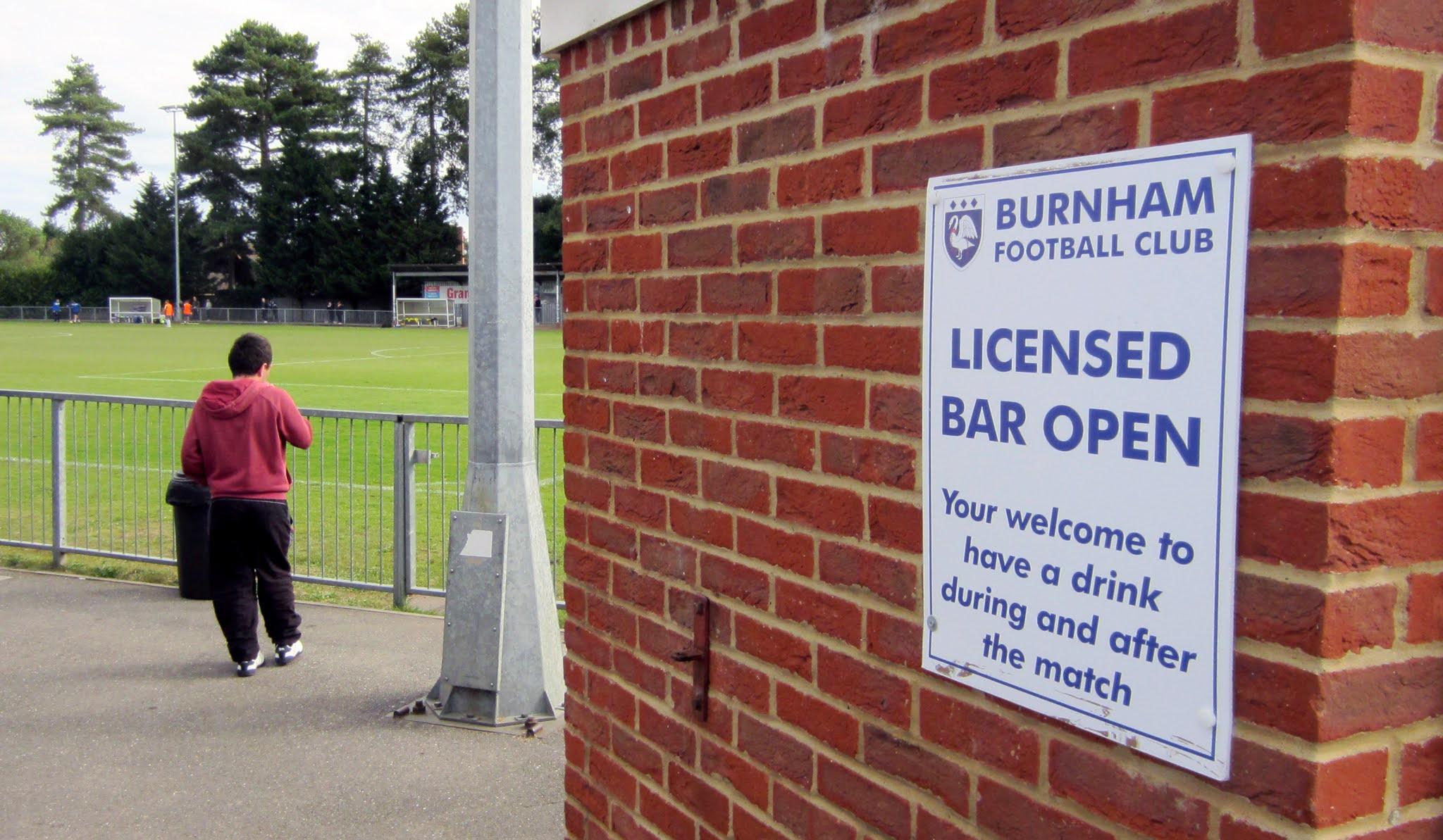 Grammatically incorrect sign at The Gore in Burnham