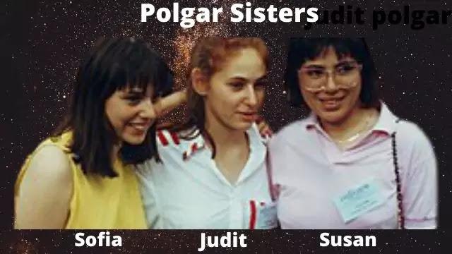 Polgar Sisters Young