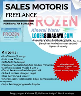 Info Loker Surabaya di Frozen Mineral Water Agustus 2020