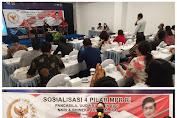 Sosialisai 4 Pilar MPR-RI Vanda Sarundajang himbau Masyarakat Kota Tomohon jaga Kesatuan dan Persatuan Bangsa