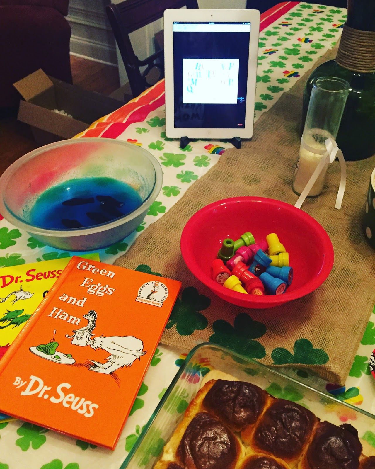 WellYellowThere: Dr. Seuss Dinner