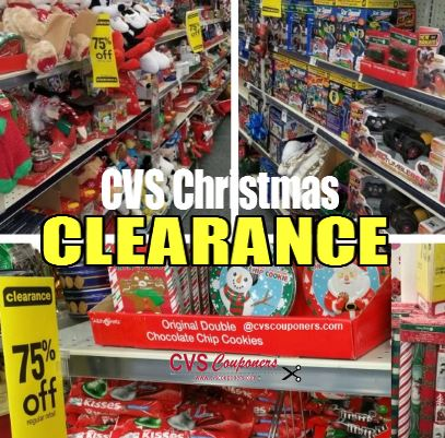 CVS Christmas Clearance Schedule