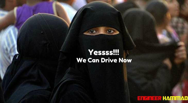 women drivers in saudi arabia, driving in saudi arab, women are allowed to drive in saudi arabia, girls can drive in ksa now.