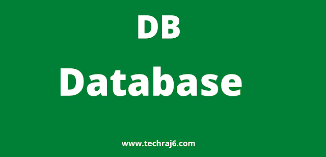 DB full form, what is the full form of DB