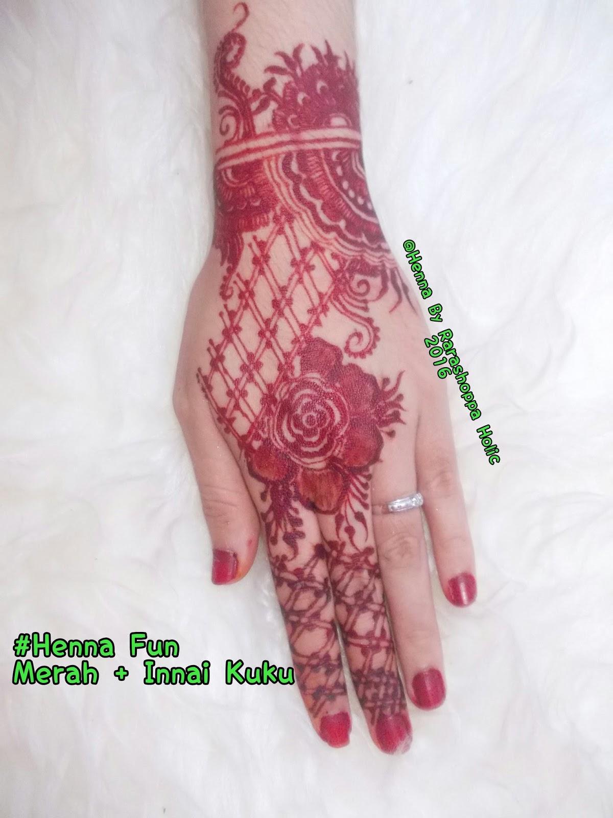 Mahendisouvenirpontianak Henna Fun Pontianak By Henna Rarashoppa Holic