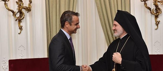 «Και πάλι έσκυψε το κεφάλι» ο Κ.Μητσοτάκης και συναντάει τον Ελπιδοφόρο παρά την αρχική ακύρωση