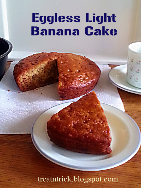 Eggless Rock Cakes Recipe