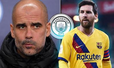 Pep lên tiếng về tin đồn Messi đến Man City