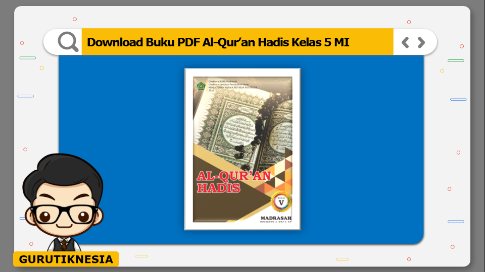 download buku pdf al-quran hadis kelas 5 mi