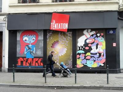 La Tentation - Centro Galego de Bruxelas
