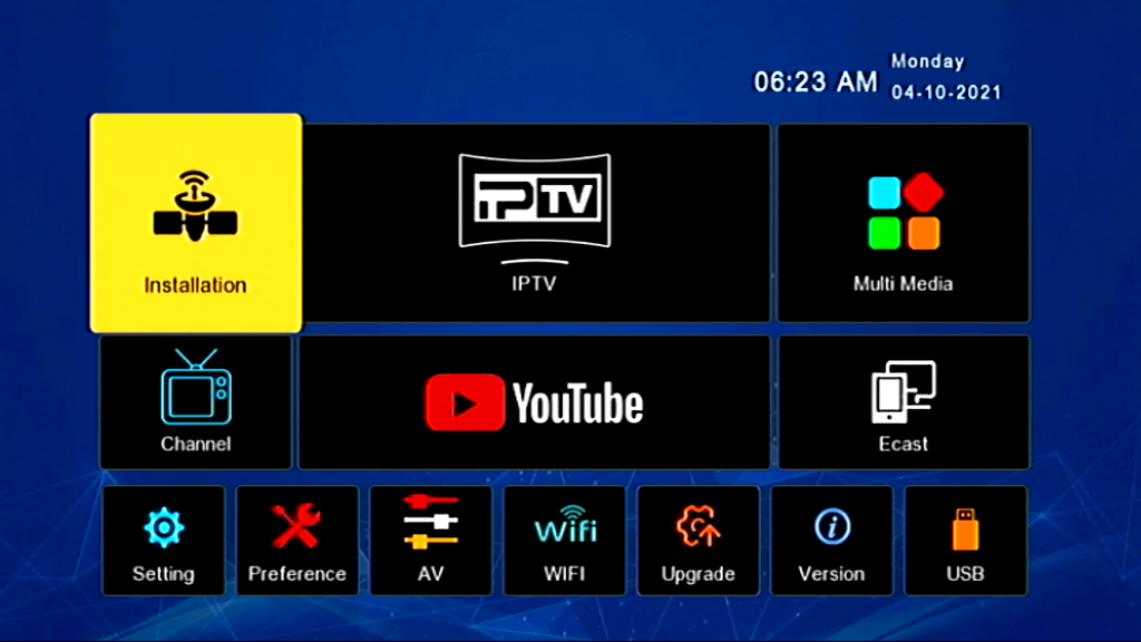 SUPER GOLD SG-6666 V2 1506TV HD RECEIVER NEW SOFTWARE UPDATE WITH SIGNAL ZOOM OPTION