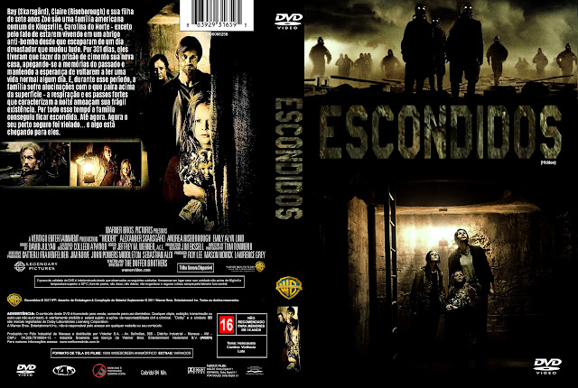 Capa DVD Escondidos [Exclusiva]