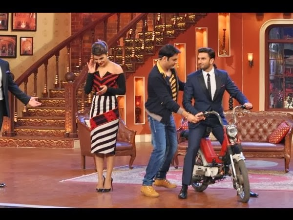 Ranveer, Priyanka & Arjun at Comedy Nights with Kapil to promote Gunday