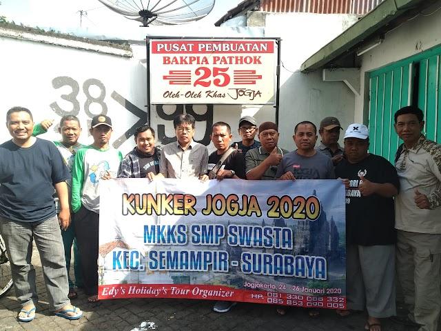 Kegiatan Kunjungan Kerja Kepala SMP Swasta Kecamatan Semampir