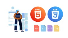Complete HTML5 & CSS3 Course for Beginners (Step by Step)