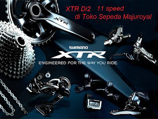 Groupset Shimano XTR 11 Speed Di2
