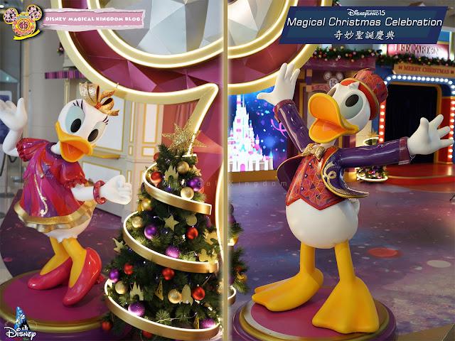 利園區香港迪士尼樂園15周年奇妙聖誕慶典 AT LEE GARDENS Magical Christmas Hysan Place 希慎廣場利舞臺