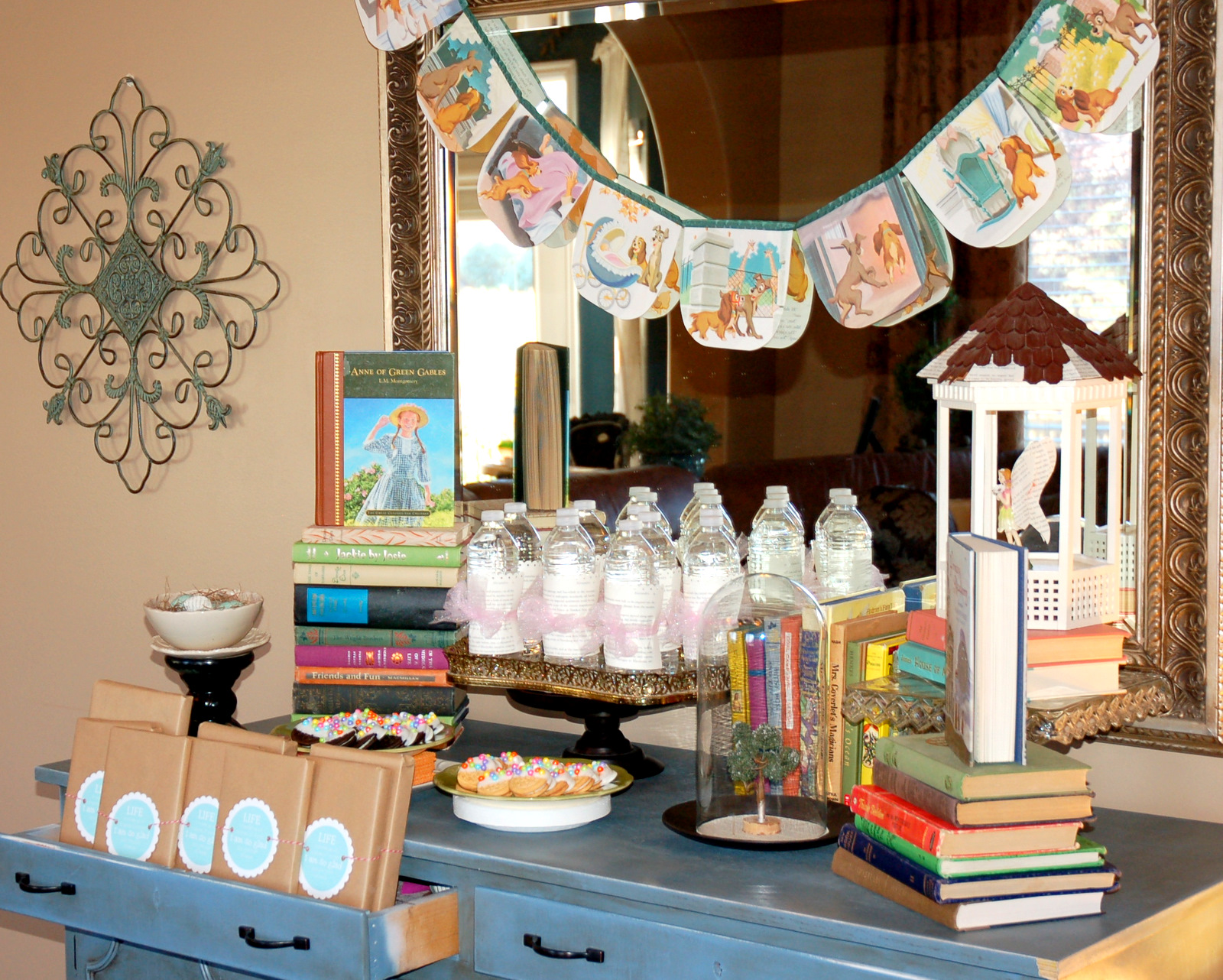 Books Decor Restlessrisa Books And Reading Party Back To School