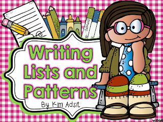 https://www.teacherspayteachers.com/Product/Writers-Workshop-Lists-and-Patterns-by-Kim-Adsit-aligned-with-Common-Core-1547001