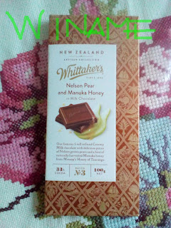 Whittaker's Pear And Manuka Honey