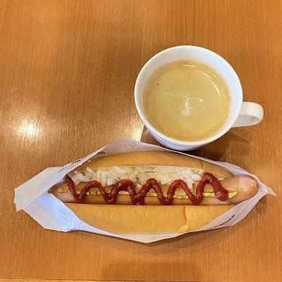 モスバーガー,ホットドッグ,コーヒー