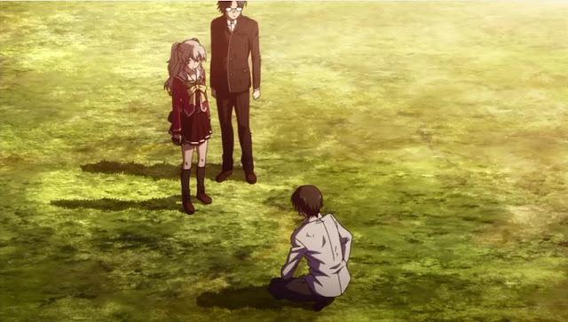 Yu diajak Tomori dan Takajo