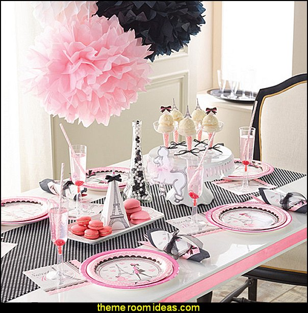 Girls Birthday Party Themes In Paris Supplies