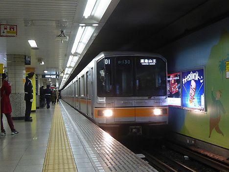 銀座線 溜池山王行き2 01系(渋谷駅改良工事に伴う運行)