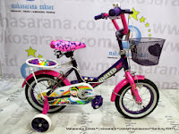 Girl Kids Bike United Kokuri
