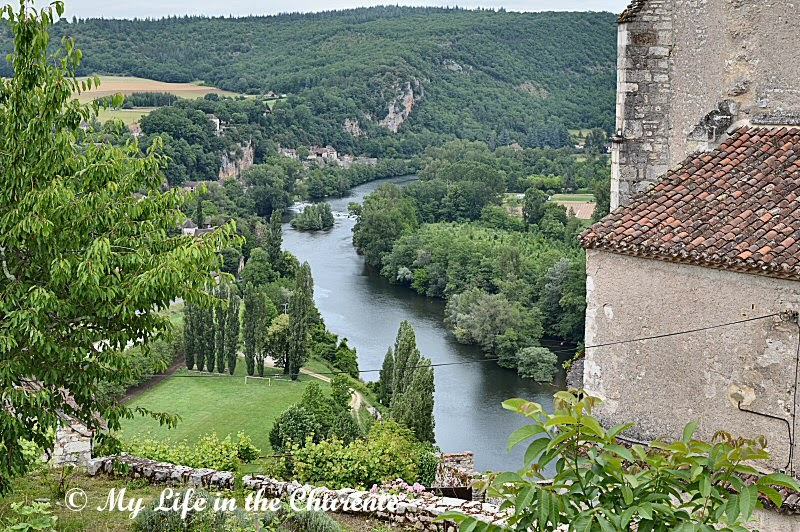 My Life in the Charente: St Cirq-Lapopie in the Lot Valley