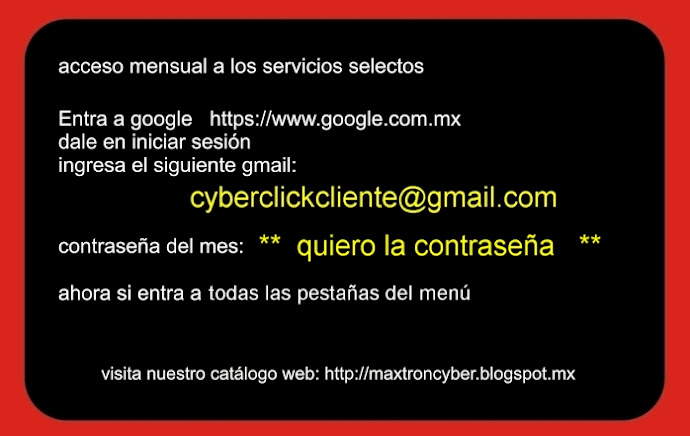 CYBERCLICK acceso total