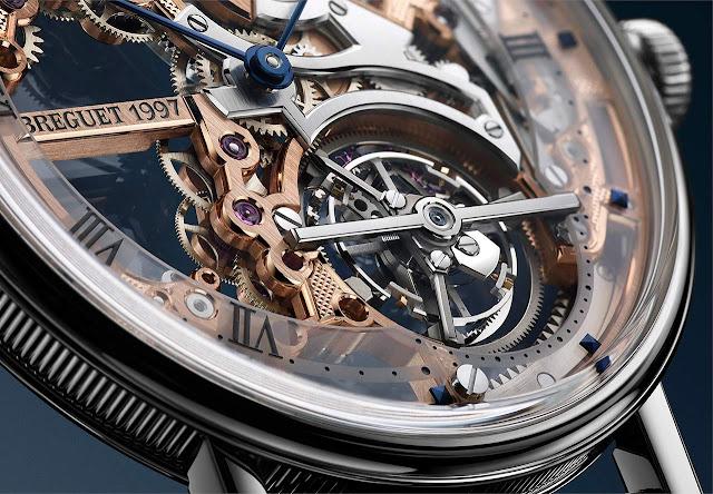 Breguet Classique Tourbillon Extra-Plat Squelette 5395 ref. 5395PT/RS/9WU