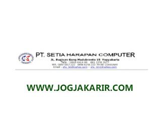 Lowongan Serabutan & Tukang Kebun di PT Setia Harapan Computer Yogyakarta