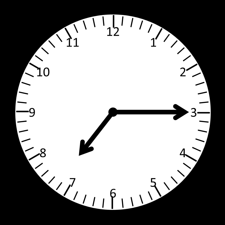 blank analog clock clip art - photo #29