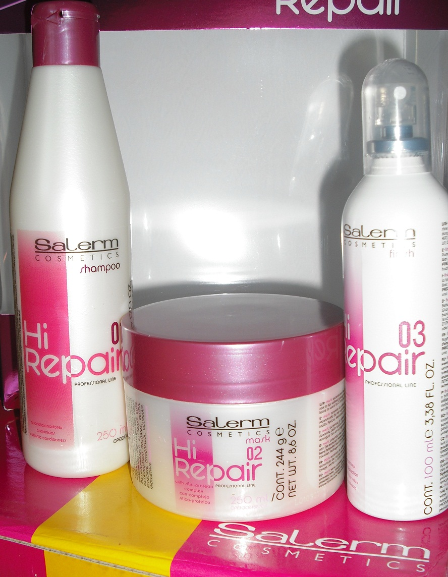 Botox para el cabello salerm